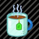 cup, hot, tea