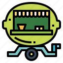 beverage, drink, food, lemonade, refreshment, truck icon