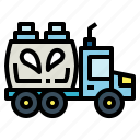 drink, food, milk, transportation, truck icon