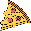 cheese, eat, kitchen, meal, pizza, pot, restaurant icon