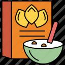 breakfast, cup, dinner, restaurant, toast icon