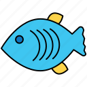 fish, health, healthy, marine icon