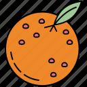 orange, fitness, fruit, healthy, slice