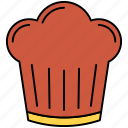 cake, christmas, cream, muffin, party icon