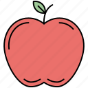 apple, dessert, food, fruit, healthy, restaurant icon