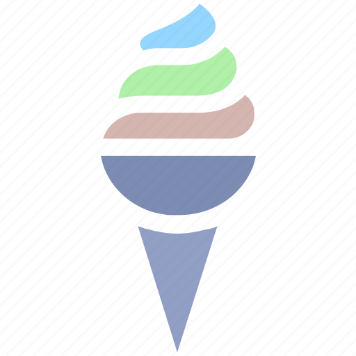 Cold, cone, dessert, food, ice cone, ice cream, ice cream cone icon - Download on Iconfinder