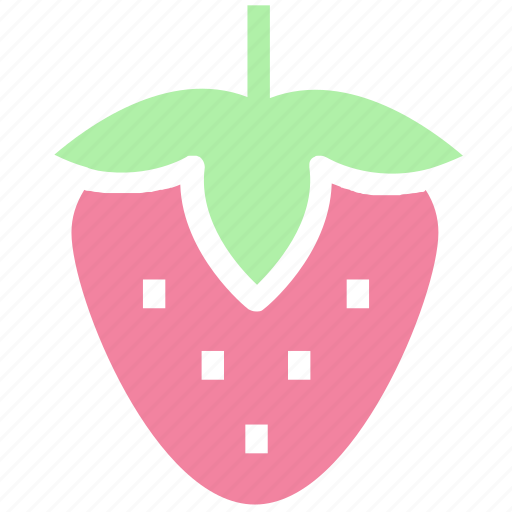 berry, food, fruit, nature, strawberries, strawberry icon