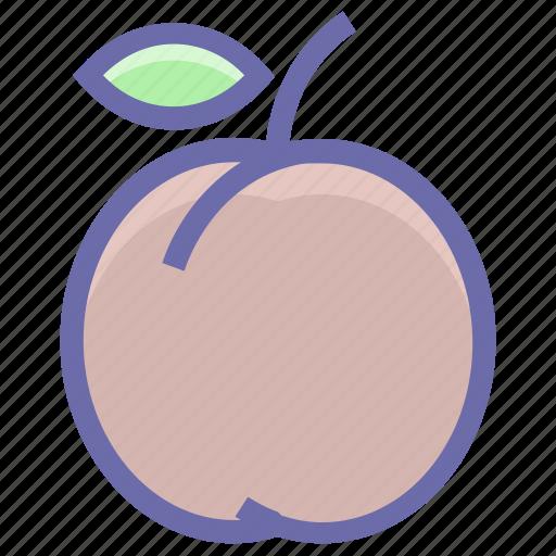 apricot, food, fruit, juicy, organic, plum, prune icon