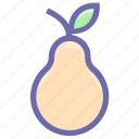 breakfast, food, fruit, fruits, pear, vegetable icon