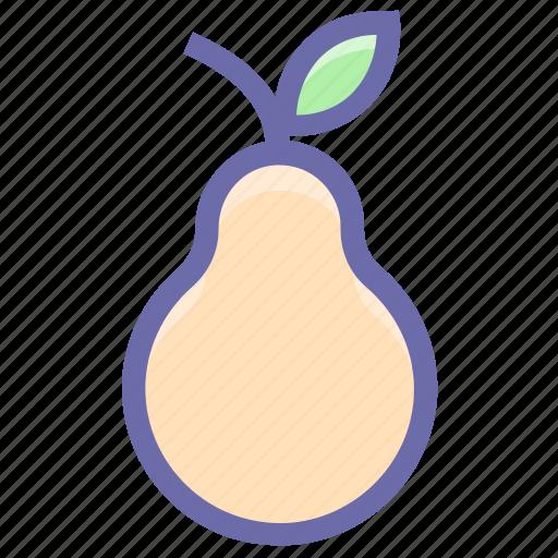 breakfast, food, fruit, fruits, pear, vegetable icon