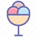 cold, cream, dessert, food, ice cream, ice cream cup icon
