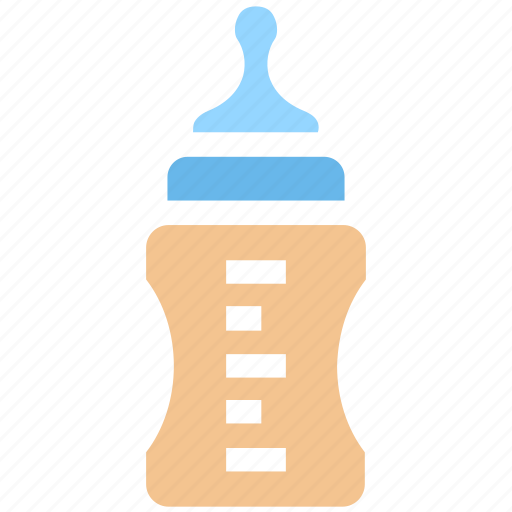 baby bottle, baby feeder, children, feeding bottle, milk, toddler bottle icon