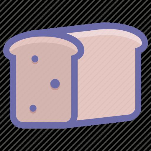 bakery, bread, breakfast, food, lunch, sandwich, toast icon