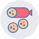 burrito, eat, mexican food, rolled tortilla filled, spanish food, taco icon