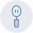 cooking, cooking spoon, kitchen, slotted spatula, spatula, utensil icon