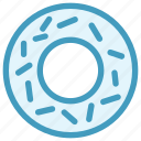 biscuit, breakfast, cookie, donut, eating, food, sweet icon