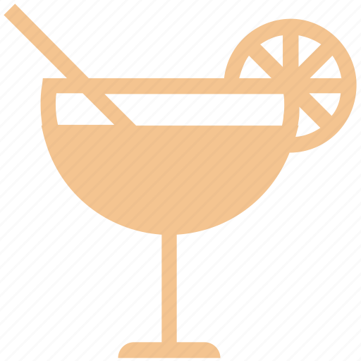 drink, healthy drink, lemonade, orange juice, soft drink, straw, summer drink icon