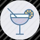 drink, healthy drink, lemonade, orange juice, soft drink, straw, summer drink icon