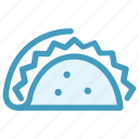fast, fast food, food, junk food, lunch, mexican, tortilla icon