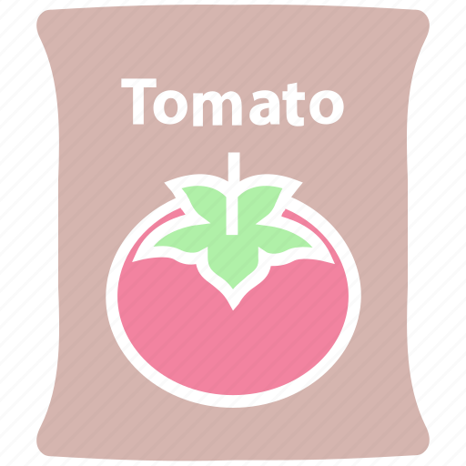 food, sack, tomato, tomato bag, tomato pack, tomato sack, vegetable icon