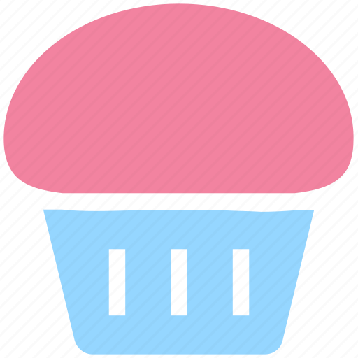 cake, chocolate, dessert, eating, food, muffin, sweet icon