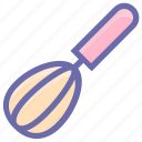 beater, egg, food, hand, hand beater, hand mixer, mixer icon