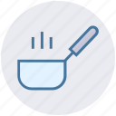 cook, cooking, cooking food, frying pan, heating, kitchen, pan icon