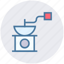 cooking, grinder, hasher, kitchen, meat, meat-chopper, mincing machine icon