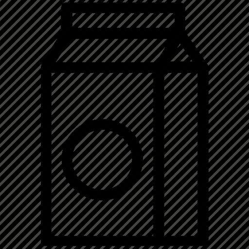 breakfast, can, cooking, kitchen, milk, milk pack icon