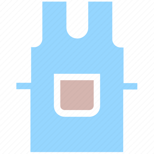 apron, cooking dress, kitchen, protection, tools, utensils icon
