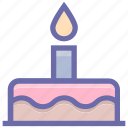 bakery, birthday cake, cake, celebration, food, muffin, wedding cake icon