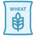 bag, flour, food, grain, wheat, wheat bag, wheat sack
