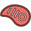 barbecue, kitchen, leg, meal, meat icon