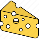cheese, delivery, fast, italian, kitchen, restaurant icon