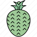 cold, fruits, juice, lemon, organic, pineapple icon