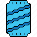 bottle, drink, tin pack icon