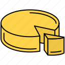 cheese, cooking, meal, restaurant, snack icon