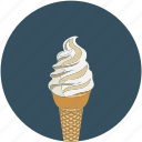 cone, cone ice cream, dessert, ice cream icon