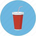 beverage, cola drink, drink, glass icon