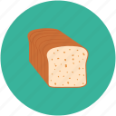 bakery, bread, breakfast, food icon