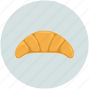 bakery, breakfast, croissant, food icon