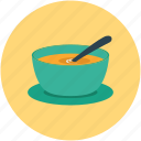bowl of soup, chinese food, food, soup icon