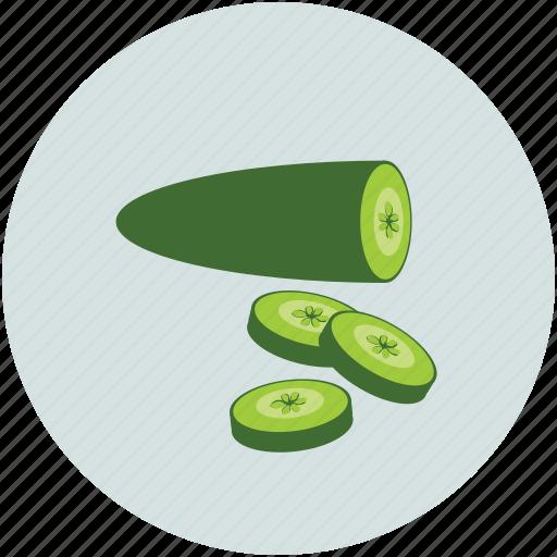 Cucumber, food, salad, vegetable icon - Download on Iconfinder