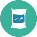 food, sugar, sugar bag, sugar sack icon