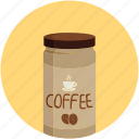 coffee, coffee jar, instant coffee, jar
