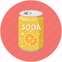 soda, beverage, drink, soda can