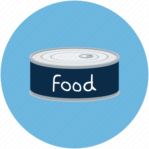 Can of food, canned food, food, food can icon - Download on Iconfinder