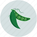 food, pea, peas, vegetable icon