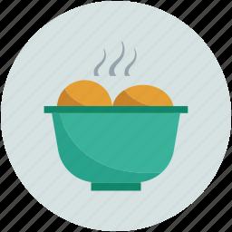 food, food bowl, food in bowl, hot food icon