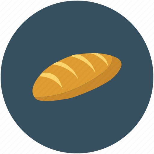 Baguette, bread, breakfast, food icon - Download on Iconfinder